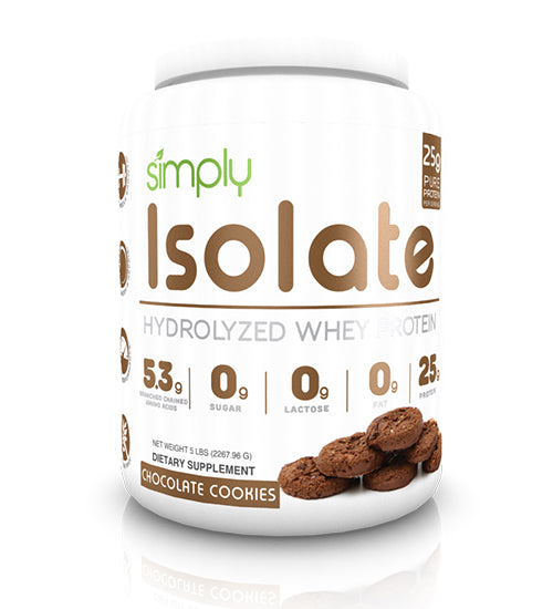 Buy SIMPLY ISOLATE HYDROLYZED 2lb this sports supplement from Payless Supplements, today