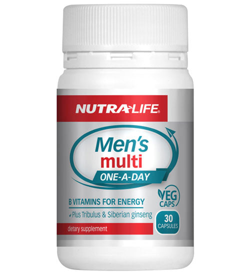 Buy NUTRA-LIFE MEN'S DAILY MULTI this sports supplement from Payless Supplements, today