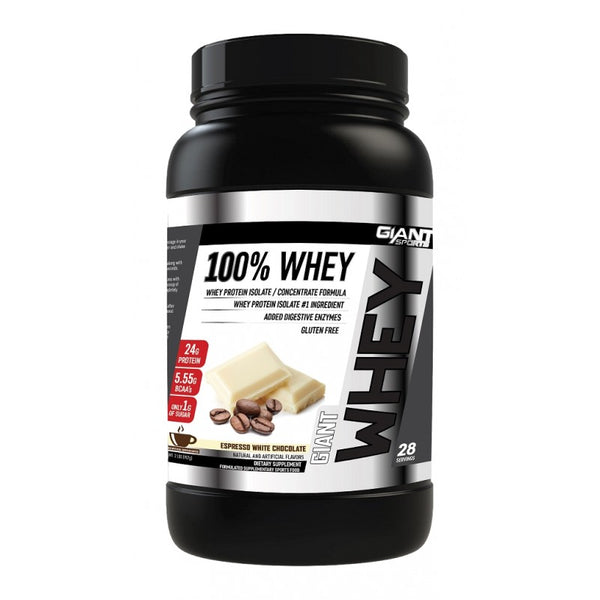Buy GIANT SPORTS 100% WHEY 2Lb this sports supplement from Payless Supplements, today