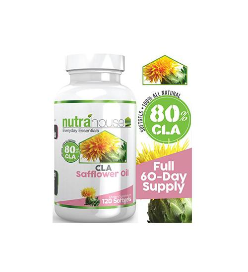 NutraHouse Safflower Oil CLA 120 Softgels
