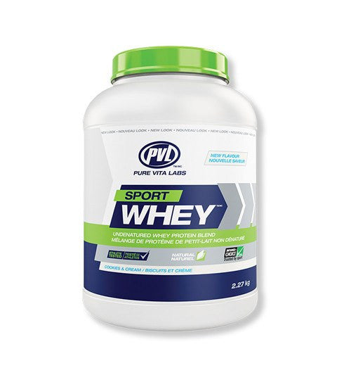 Buy PVL Vita Labs Sport Whey 5lb this sports supplement from Payless Supplements, today