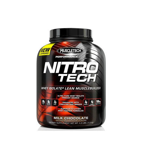 Buy MUSCLETECH NITRO-TECH PROTEIN 4lb this sports supplement from Payless Supplements, today
