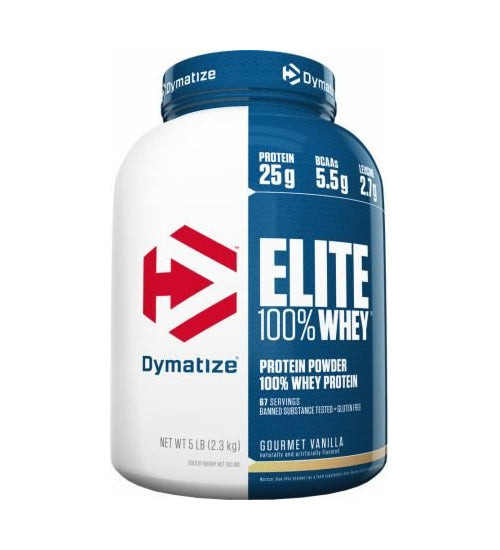 Buy DYMATIZE ELITE 100% WHEY PROTEIN 5lb this sports supplement from Payless Supplements, today
