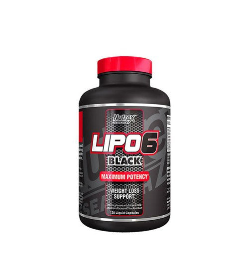 Buy NUTREX LIPO-6 BLACK FAT BURNER this sports supplement from Payless Supplements, today