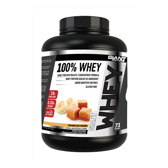 Buy Giant Sports 100% Whey this sports supplement from Payless Supplements, today