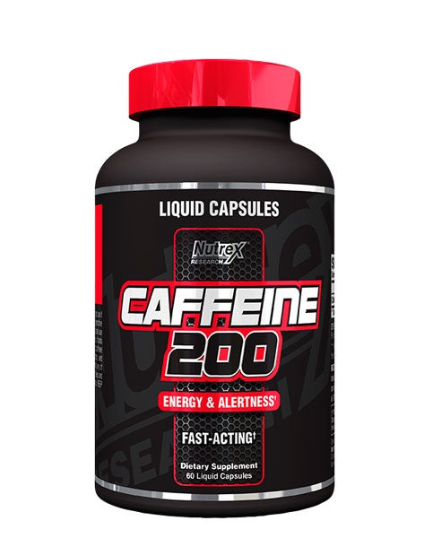 Buy Nutrex Caffeine 200 Fast Acting 60 Caps this sports supplement from Payless Supplements, today
