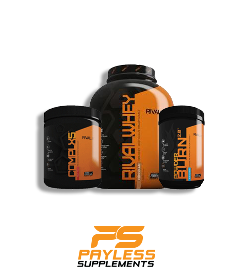 RivalUS Stack - Whey - Powder Burn - Complx5