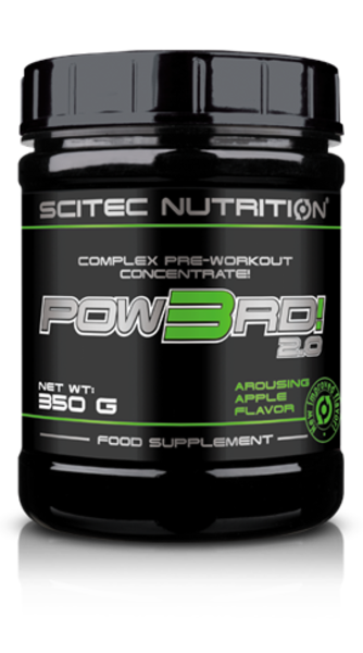 Buy SCITEC NUTRITION POW3RD 2.0 PRE-WORKOUT this sports supplement from Payless Supplements, today