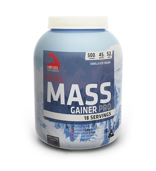 LIMITLESS EXCEL MASS GAINER PRO