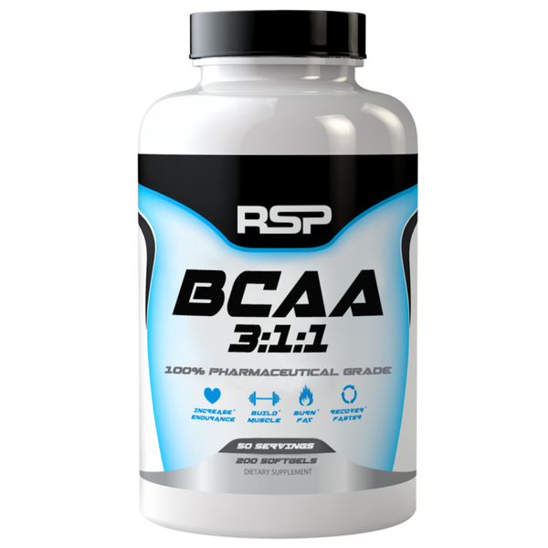 Buy RSP BCAA 3:1:1 CAPS this sports supplement from Payless Supplements, today