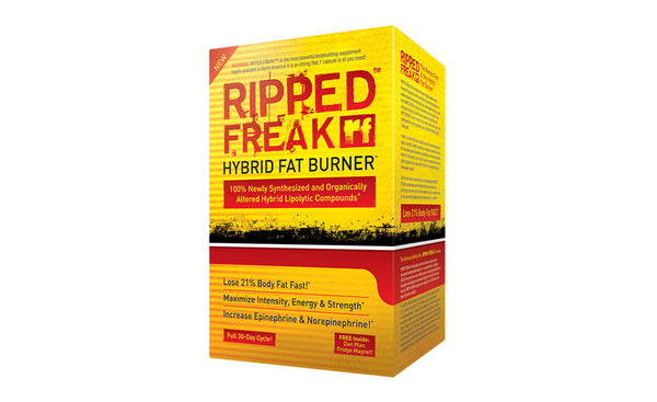 PHARMAFREAK RIPPED FREAK FAT BURNER + FREE SHAKER