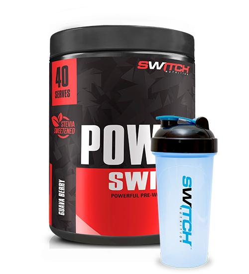 Switch Nutrition Power Switch 40 Serve + SHAKER