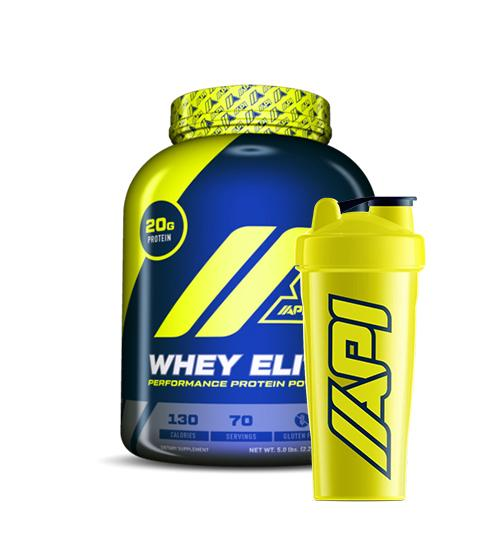 Buy API Whey Elite + Shaker this sports supplement from Payless Supplements, today