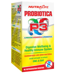 Buy NUTRA-LIFE PROBIOTICA P3 this sports supplement from Payless Supplements, today