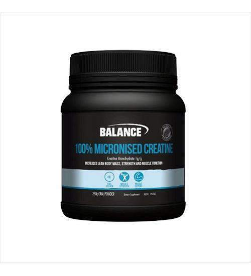 Buy Balance 100% Micronised Creatine this sports supplement from Payless Supplements, today