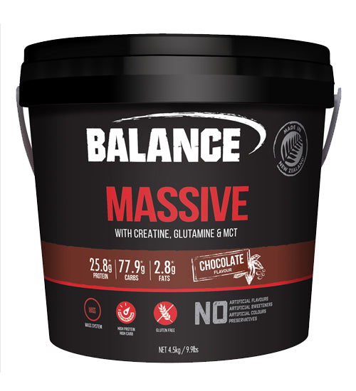 Buy Balance Massive New Formula this sports supplement from Payless Supplements, today