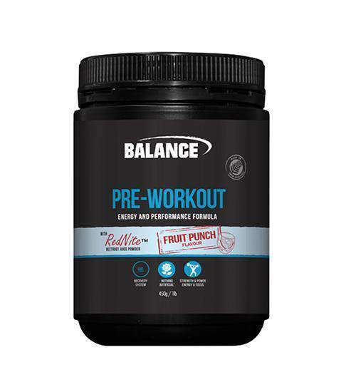 Buy Balance Pre-Workout this sports supplement from Payless Supplements, today