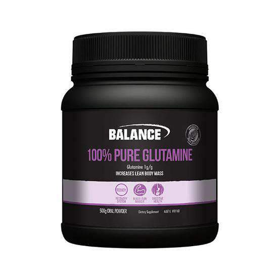 Buy BALANCE PURE L-GLUTAMINE 500gram this sports supplement from Payless Supplements, today