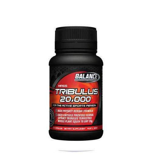 Buy BALANCE TRIBULUS 20000 this sports supplement from Payless Supplements, today