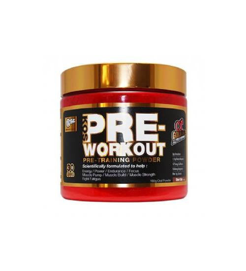 Buy BSC K-OS PRE-WORKOUT - 30 SERVES this sports supplement from Payless Supplements, today