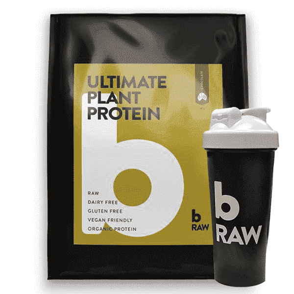 BRaw Ultimate Plant Protein + Shaker