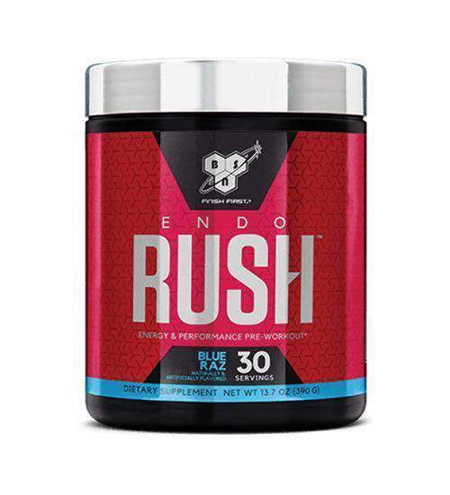 Buy BSN Endorush Pre-Workout 30 Serve this sports supplement from Payless Supplements, today
