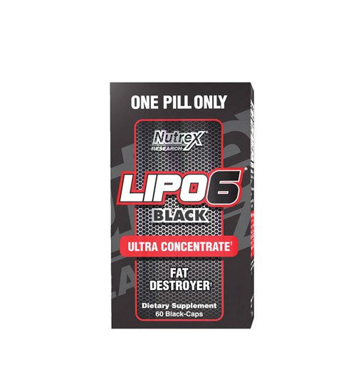 Buy NUTREX LIPO 6 BLACK ULTRA CONCENTRATE 60 Caps this sports supplement from Payless Supplements, today