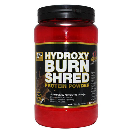 Buy BSC HYDROXYBURN SHRED PROTEIN 900G this sports supplement from Payless Supplements, today