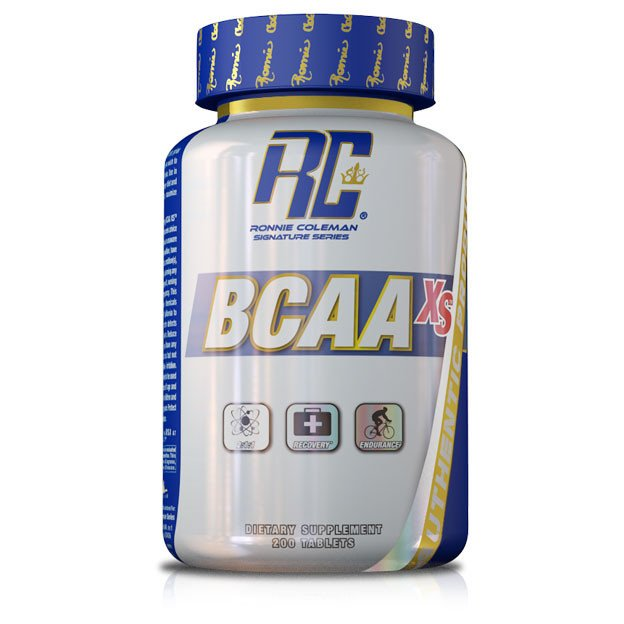 RONNIE COLEMAN BCAA XS 200 Tabs
