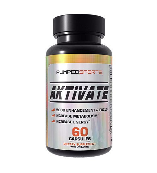 Buy PUMPED SPORTS AKTIVATE 60 CAPSULES this sports supplement from Payless Supplements, today