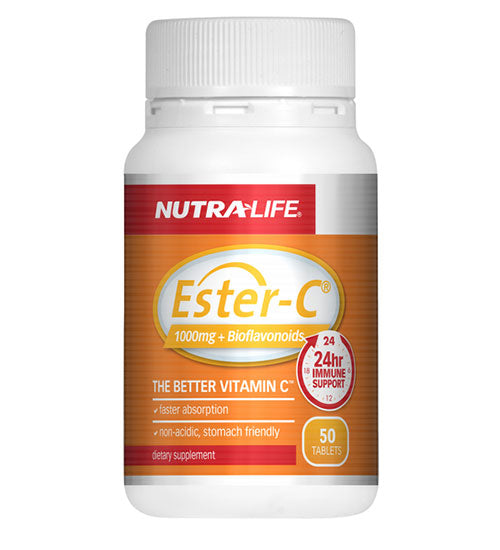 Buy NUTRA-LIFE ESTER-C 1000MG PLUS BIOFLAVONOIDS this sports supplement from Payless Supplements, today