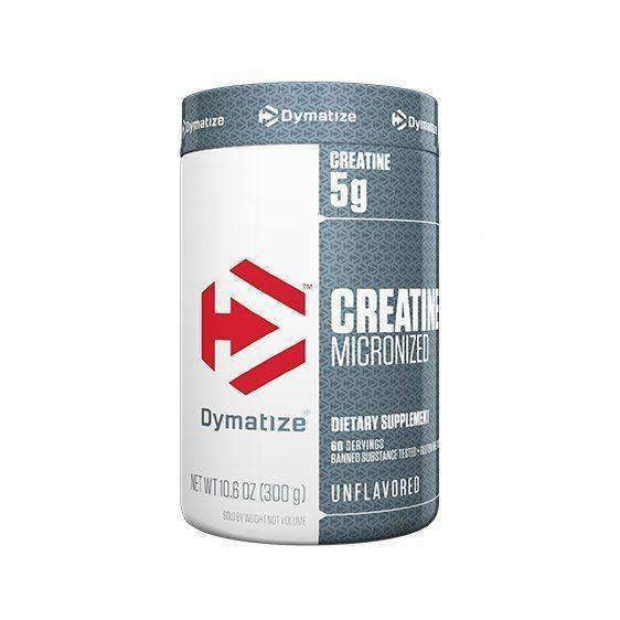 Buy DYMATIZE CREATINE UNFLAVOURED 300g this sports supplement from Payless Supplements, today