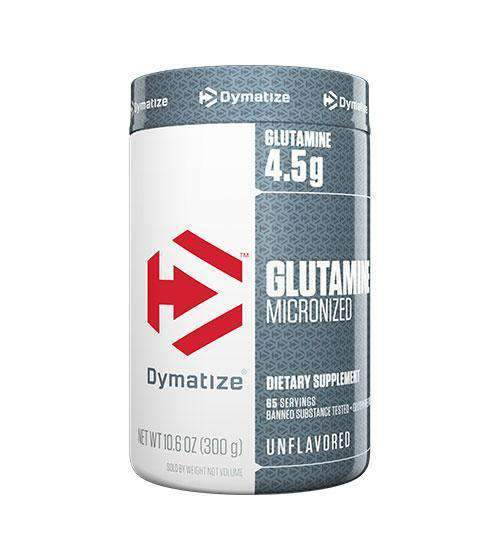 Buy DYMATIZE MICRONIZED GLUTAMINE 300g this sports supplement from Payless Supplements, today