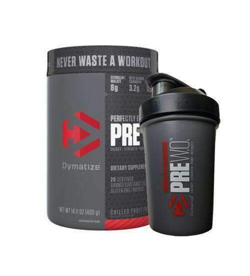 Buy Dymatize PRE W.O. + FREE SHAKER this sports supplement from Payless Supplements, today
