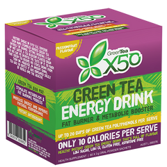 X50 GREEN TEA PASSIONFRUIT NEW FORMULA