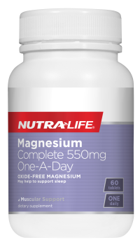 Nutra-Life Magnesium Complete 300mg One a day 60 CAPS