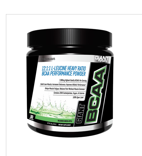 Buy GIANT SPORTS BCAA 12:1:1 this sports supplement from Payless Supplements, today