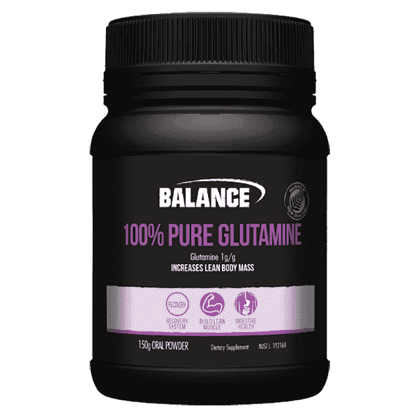 Balance 100% Pure Glutamine Powder