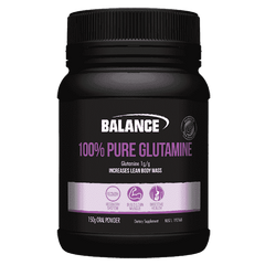 Balance 100% Pure Glutamine Powder 150g - TopDog Nutrition