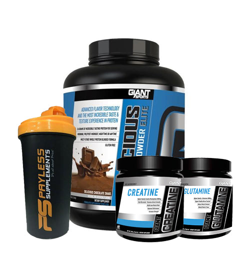 Buy GIANT SPORTS DELICIOUS PROTEIN COMBO this sports supplement from Payless Supplements, today