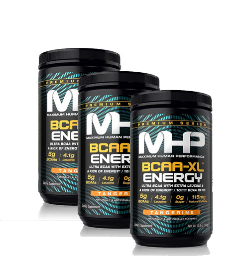 MHP BCAA XL ENERGY X3 TRIPLE PACK