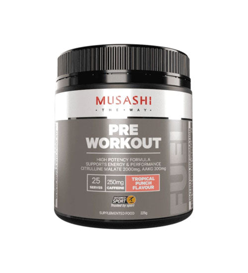 Buy Musashi Pre-Workout this sports supplement from Payless Supplements, today