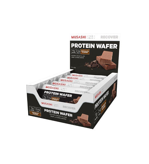 Buy Musashi Protein Wafer Bar this sports supplement from Payless Supplements, today