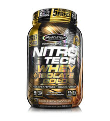 Buy MuscleTech Nitro Tech Whey Plus Isolate Gold 2Lb this sports supplement from Payless Supplements, today