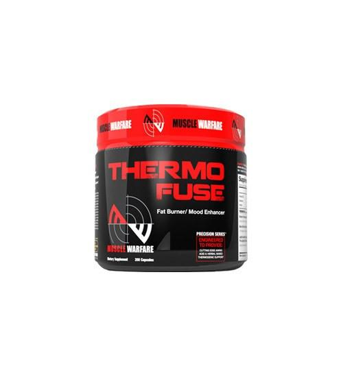 Buy MUSCLE WARFARE THERMOFUSE 90 Caps this sports supplement from Payless Supplements, today