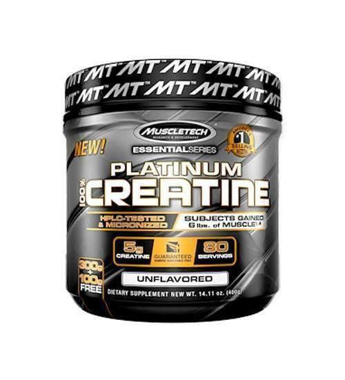 Muscletech, Essential Series, Platinum 100% Creatine - TopDog Nutrition