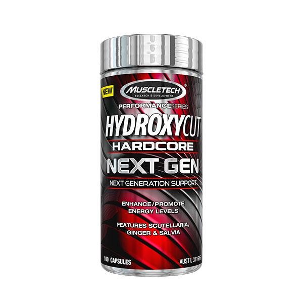 Buy MUSCLETECH HYDROXYCUT HARDCORE NEXT GEN this sports supplement from Payless Supplements, today