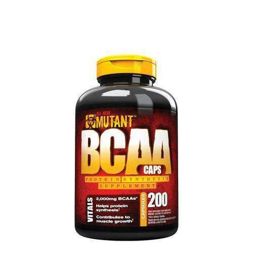 Buy Mutant BCAA 400 Caps this sports supplement from Payless Supplements, today