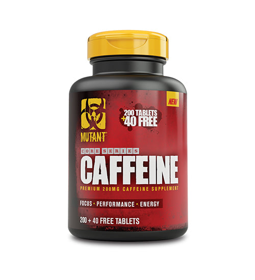 Buy MUTANT CAFFEINE 240 Tablets 200mg this sports supplement from Payless Supplements, today