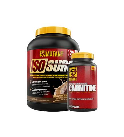 Mutant Iso Surge Protein 5lb + Carnitine